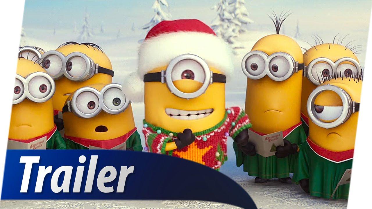 MINIONS 3D Christmas Weihnachten Teaser Trailer Deutsch German HD