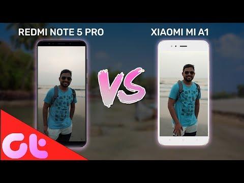Redmi Note 5 Pro vs Mi A1 Camera Test & Comparison in GOA