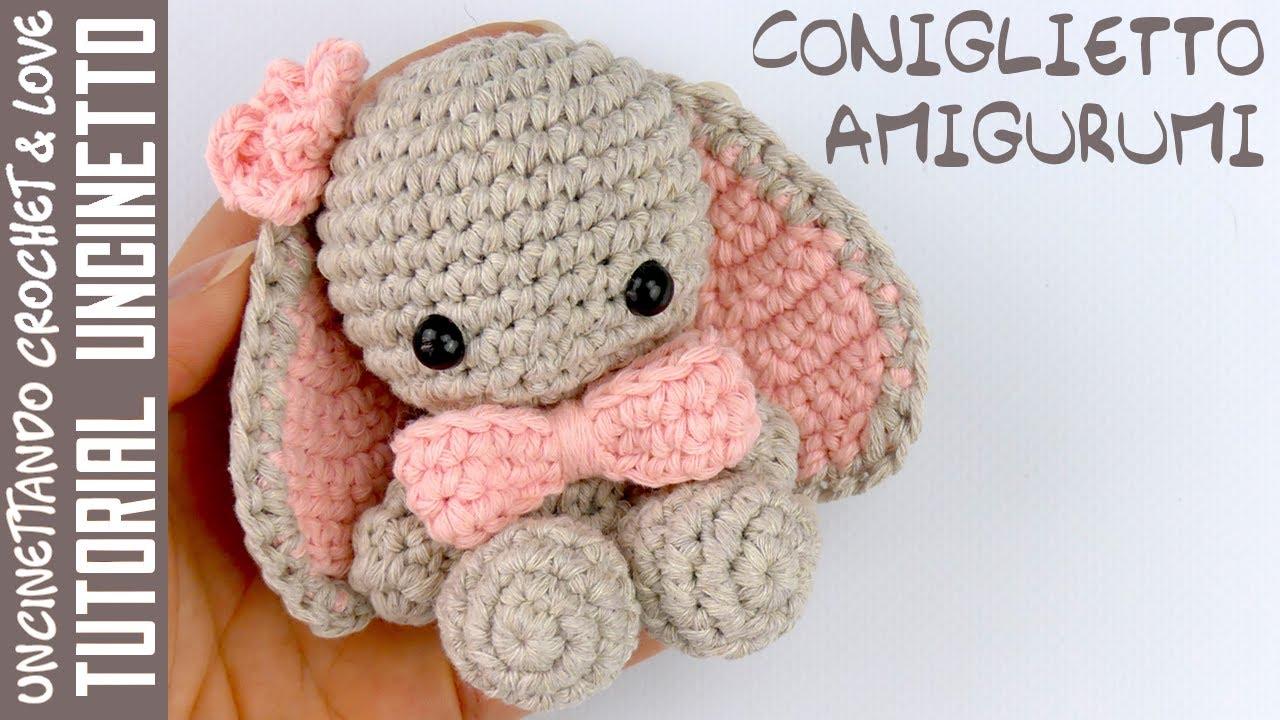 coniglietto amigurumi schema gratis free uncinetto crochet ... | 720x1280