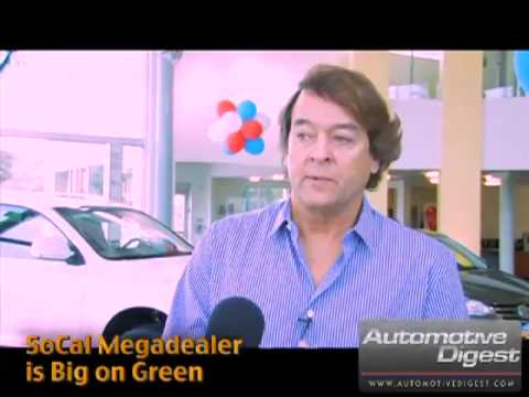 "Mike Sullivan of LAcarGUY Dealership Owner ""SoCal Megadealer is Big on Green"" (clip 1)"