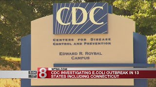 CDC investigating E. Coli outbreak in 13 states including CT