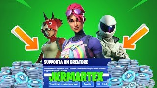 EVENTO SUPPORTA UN CREATORE DI FORTNITE !! - JKRMARTEX
