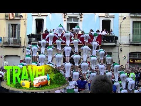 Festa Major de Gracia #Barcelona ☕ HD 1080p