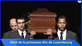 Mort de la princesse Alix de Luxembourg : Emotion à Beloeil pour ses obsèques