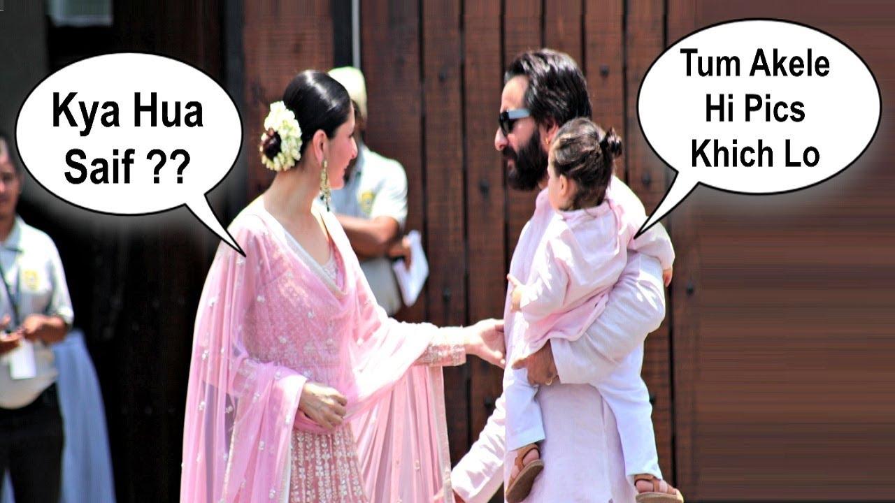 Kareena Kapoor Fight With Saif Ali Khan At Sonam Kapoor Wedding