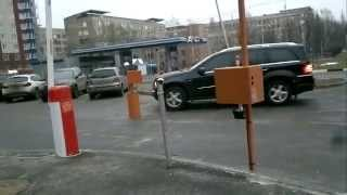 Автоматический шлагбаум, ограждение территории парковки, учет автомобилей(, 2015-03-03T16:23:45.000Z)