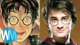 Top 10 Différences CHOQUANTES entre les livres et les films HARRY POTTER !