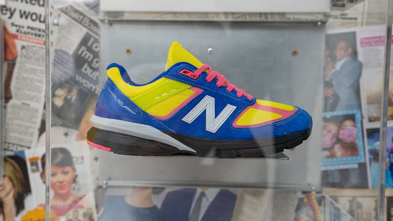 size? x New Balance 990v5 Launch Event