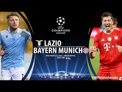 [SOI KÈO BÓNG ĐÁ] Lazio - Bayern Munich (3h00 ngày 24/2). Vòng 1/8 Cúp C1 châu Âu. Trực tiếp K+PM