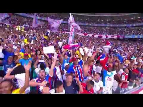 Bahia 6 x 0 Vitória da Conquista - 3/5/2015 - Bahia Campeão Baiano 2015