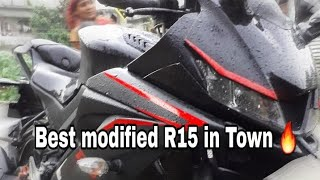 Change your Yamaha V3 into superbike look with modified