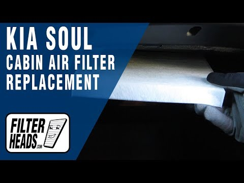 How to Replace Cabin Air Filter 2014 Kia Soul