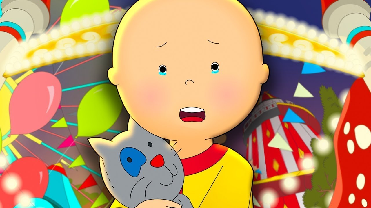 Caillou Gets Lost at the Fair ★ Funny Animated Caillou | Cartoons for kids | Caillou