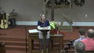 Fellowship Sunday: Melissa Hancock Testimony
