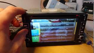 Oprava dotykového displaye autorádia DN8802K
