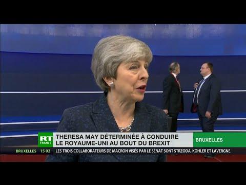 Brexit : un sommet européen qui s'annonce tendu pour Theresa May