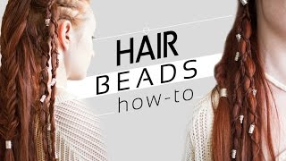 How to Use Beads in Your Hair and Braids