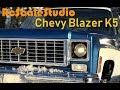 Rc scale studio 4x4 Rc4Wd Chevrolet Blazer K5 in progressive trance scale run