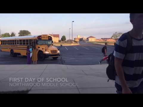 First day of school | NorthWood Middle School