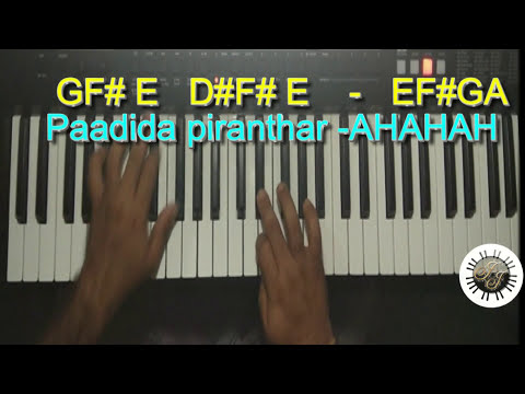 Piranthar Piranthar SONG IN KEYBOARD, LEAD, WITH NOTES.scale- E MinorSongs