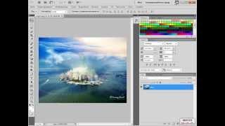 Уроки Photoshop - Создаем свою рабочую среду. Урок 3