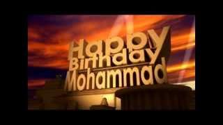 Happy Birthday Mohammad