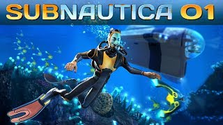Subnautica #001 | Das Abenteuer beginnt | Subnautica Release | Gameplay German Deutsch thumbnail