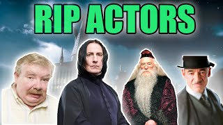 Harry Potter Actors Who Passed Away