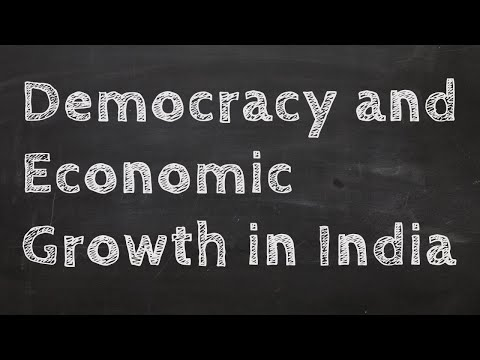 How Does Democracy Affect Economic Growth in India?