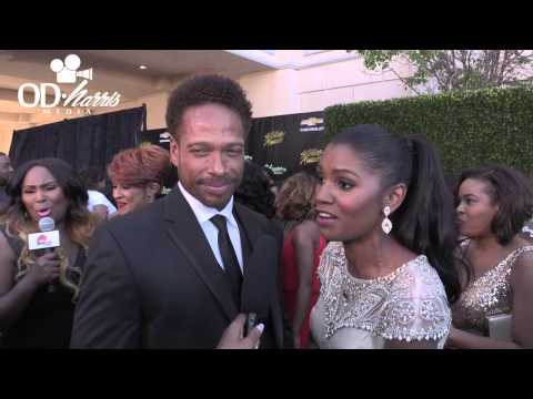 Gary Dourdan and Denise Boutte interview 30th Annual Stellar Awards