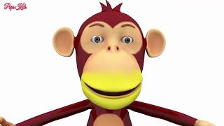 Learn Colors with Monkey Lipstick Children Song Finger Family Nursery Rhymes Children kids