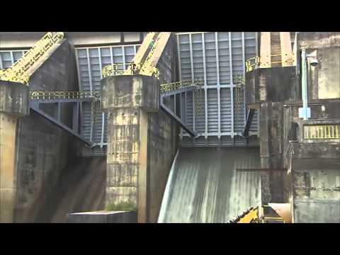 Usina Hidrelétrica de Samuel abre duas das cinco comportas, em Porto Velho