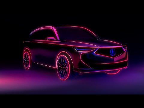 Next-Generation Acura MDX Prototype Set to Debut Oct. 14