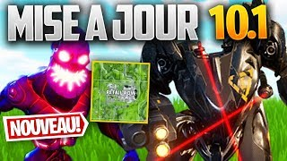 UPDATE 10.10: ROBOT LASER, Retail Row - ZOMBIES on FORTNITE! (Patch Note 10.10)