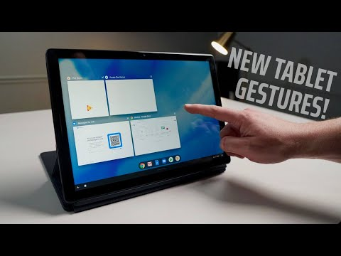New Chrome OS Tablet Gestures