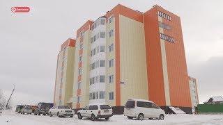 Камчатским многодетным семьям вручили ключи от новых квартир