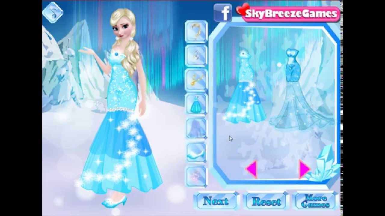 Disney Sisters Frozen Dress Up Makeover Game To Play Free