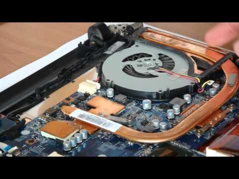 Как почистить ноутбук. Как разобрать ноутбук Sony Vaio.