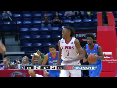 Highlights: Jaron Johnson (27 points)  vs. the Blue, 3/24/2017