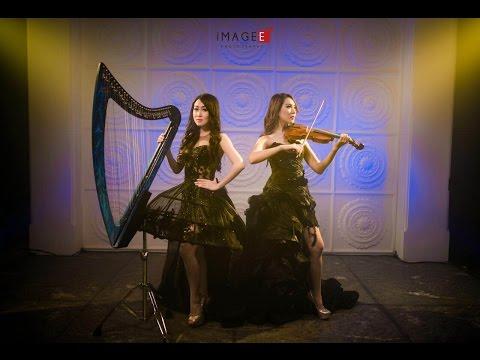 Phantom Of The Opera - Cover By Angela July (vocal & Harp) And Kezia Amelia (violin)