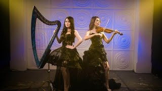 Phantom of the Opera - Cover by Angela July (vocal & harp) and Kezia Amelia (violin)