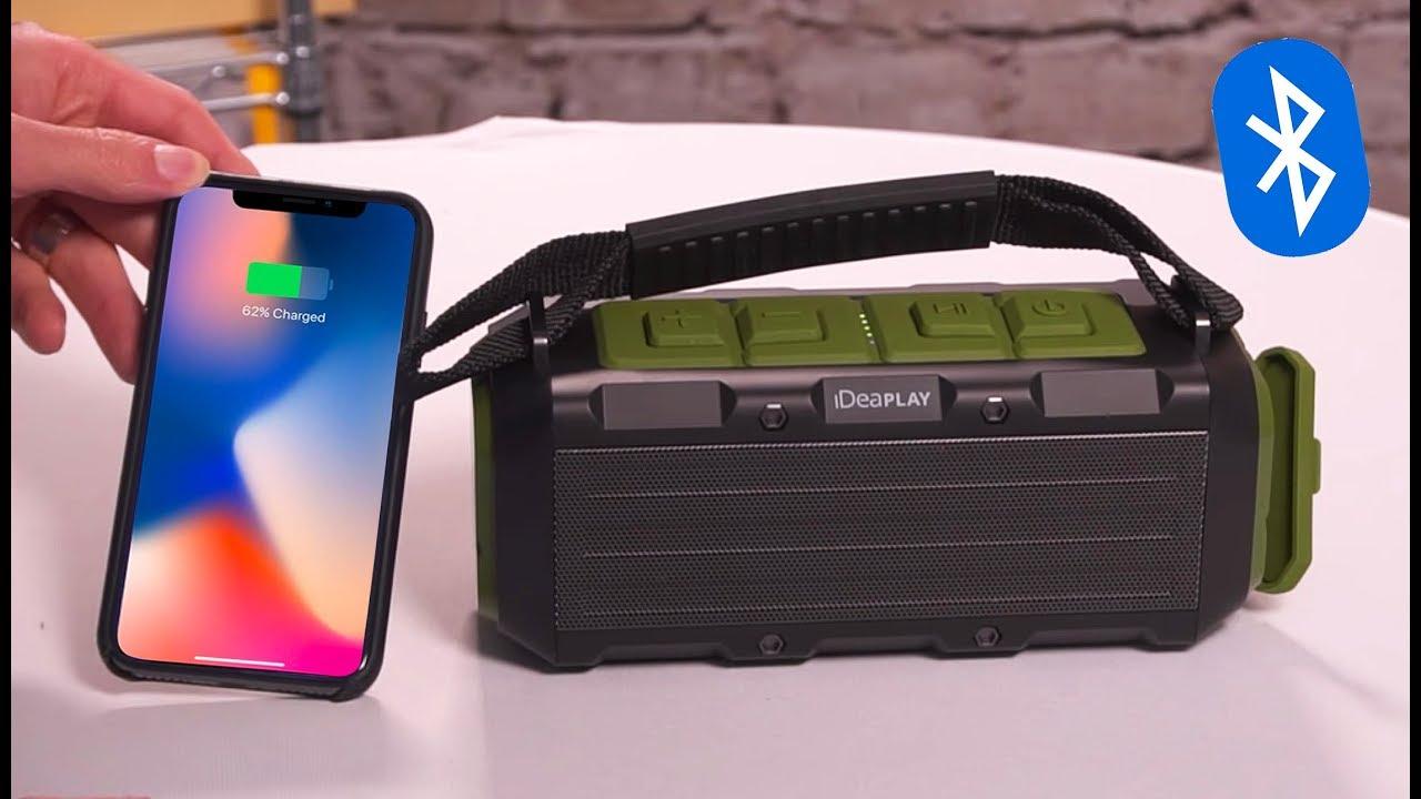 Best Waterproof Bluetooth Speaker Powerbank Combo Deal Of 2019 Youtube