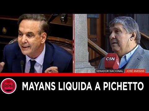 ¿Pichetto renuncia al Consejo de la Magistratura? Mayans lo liquidó por traidor