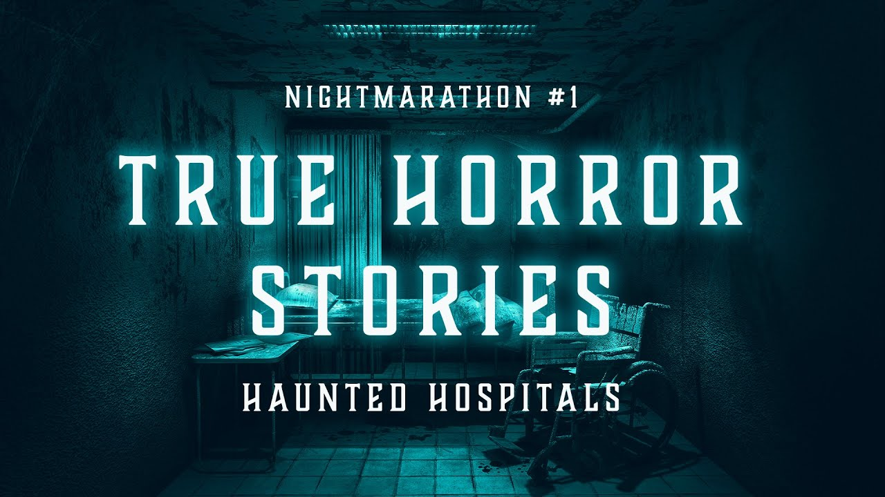 Nightmarathon #1 | True Scary Stories in the Rain | Haunted Hospitals | Raven Reads