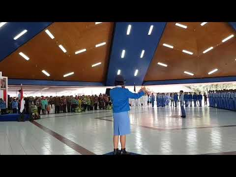 Hymne Taruna Nusantara oleh Siswa Angkatan 28