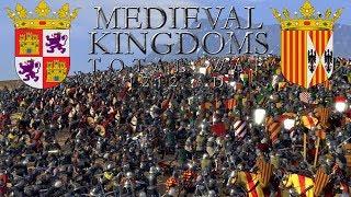 MEDIEVAL KINGDOMS Total War 1212   ARAGON vs CASTILLA   DIALOGANDO SE ENTIENDE LA GENTE ¿VERDAD? XD