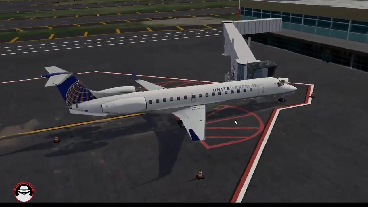 A closer look | X-Crafts ERJ - 145XR | X-Plane 11