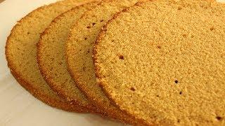 Карамельный Бисквит ✧ Caramel Sponge Cake Recipe ✧ Karamelli Pandispanya Tarifi