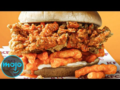Top 10 Most Outrageous Fast Food Burgers