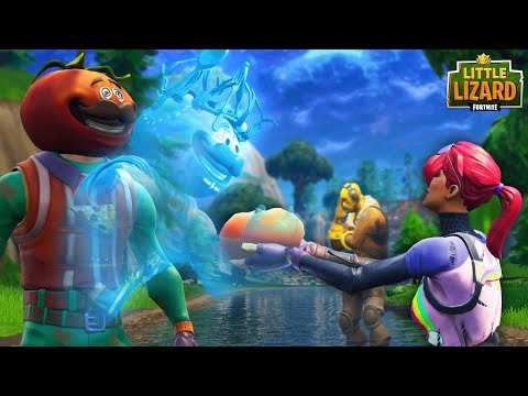 HOW TO SUMMON ANCIENT TOMATO HEAD - PART 1-  FORTNITE SHORT FILMS